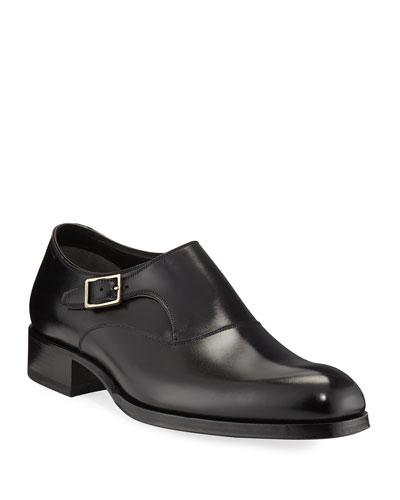 Edgar Calf Leather Monk Shoe