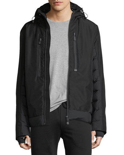 Bessans Quilted-Trim Jacket