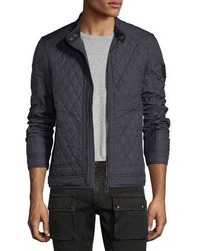 Bramley Quilted Zip-Front Jacket