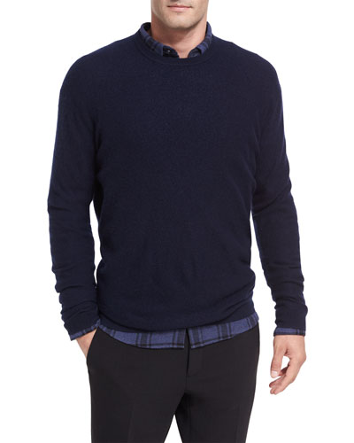 Boiled Cashmere Crewneck Sweater