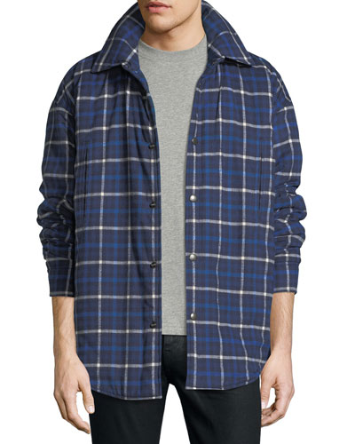 Padded Flannel Shirt