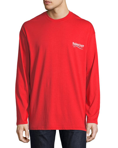 Long-Sleeve Campaign Logo T-Shirt