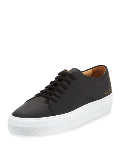 Men's Court Leather Low-Top Sneaker