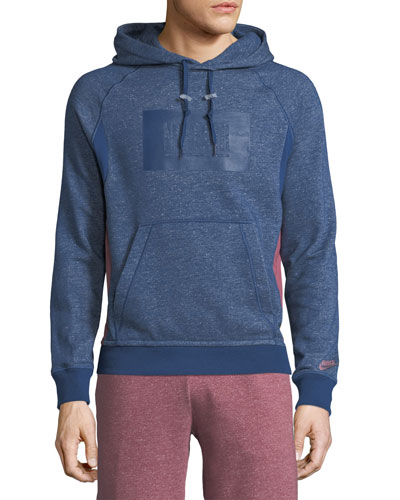 X Pigalle Hooded Terry Pullover Sweatshirt