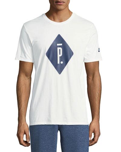 X Pigalle Short-Sleeve Logo T-Shirt