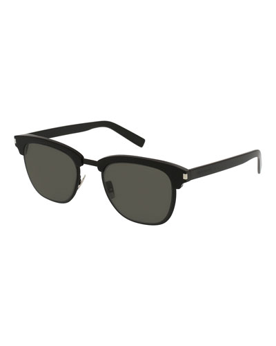 Classic 108 Retro Sunglasses, Black