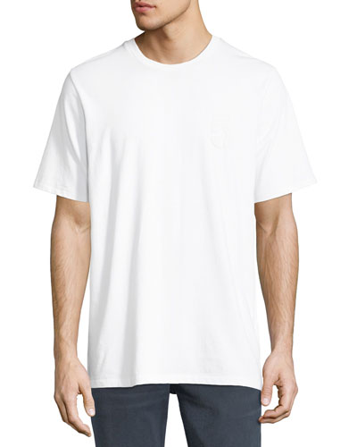 Flocked 5 Print T-Shirt