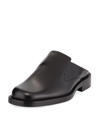 Leather Mule Slide