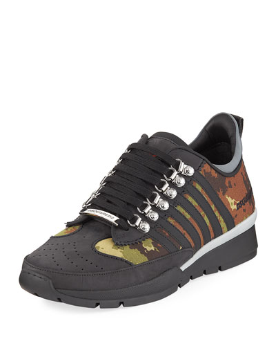 Men's 251 Sneaker w/ Camo Print