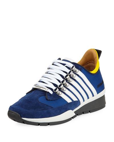 Men's 251 Suede-Trim Sneaker