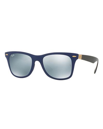 Wayfarer Literforce Mirrored Sunglasses