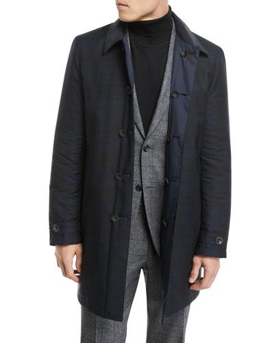 Reversible Button-Front Coat
