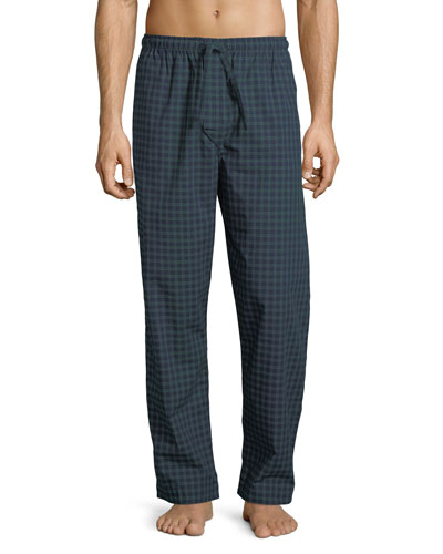 Braemar 44 Check Cotton Lounge Pants