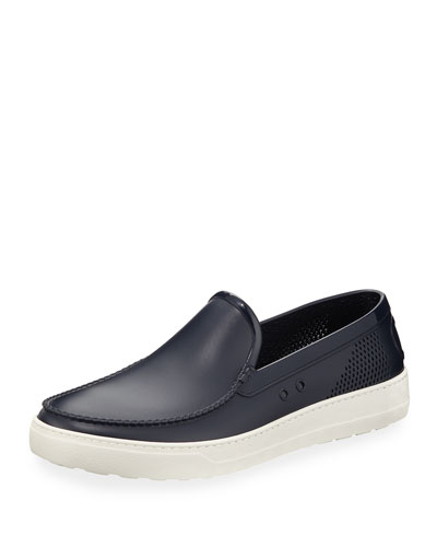Perforated Grommet Boat Shoe