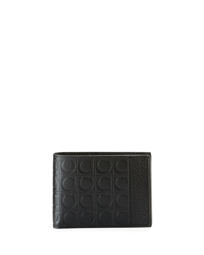 Firenze Gamma Bi-Fold Leather Wallet