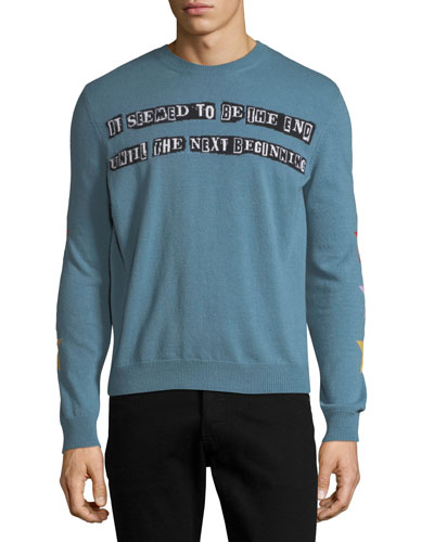 The Next Beginning Intarsia Sweater