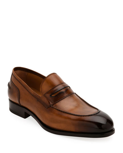 Men's Special Edition Tramezza Calf Leather Penny Loafer