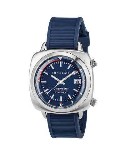 Clubmaster Diver Automatic Watch, Blue