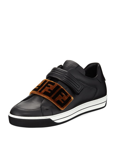 Signature Grip-Strap Low-Top Sneaker