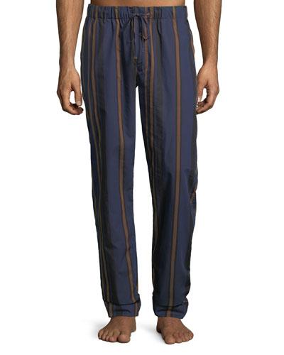 Striped Woven Lounge Pants