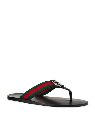 Gucci Slide Sandal Bergdorfgoodman Com