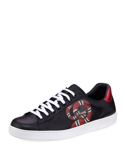Ace Kingsnake Print Sneaker