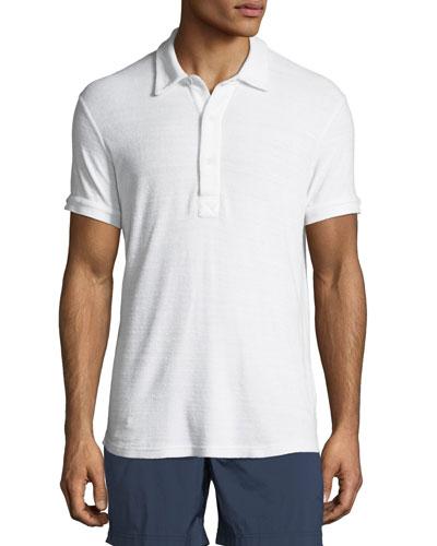 Sebastan Terry Cloth Polo Shirt