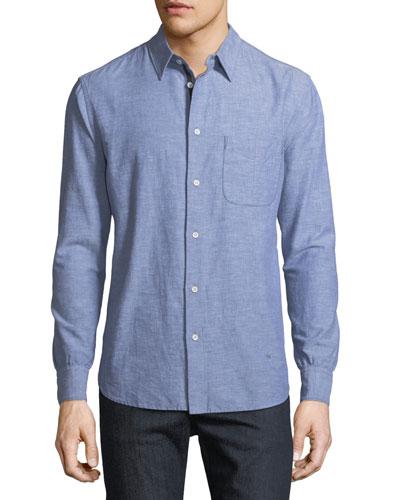 Men's Fit 3 Beach Chambray Shirt