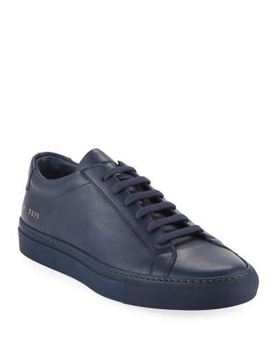 9f6399f06d5 Men s Achilles Leather Low-Top Sneakers