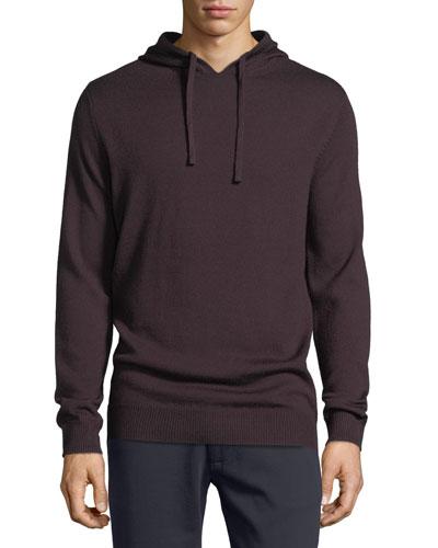 Wool Pullover Hoodie