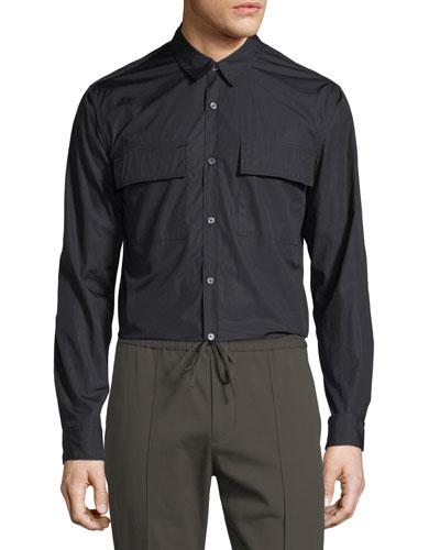 Military Long-Sleeve Sport Shirt