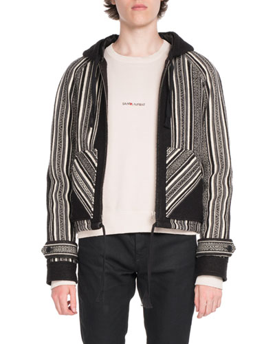 Baha Wool-Blend Zip-Front Jacket