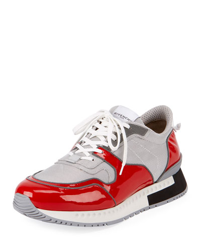 Patent Leather Active Running Sneaker