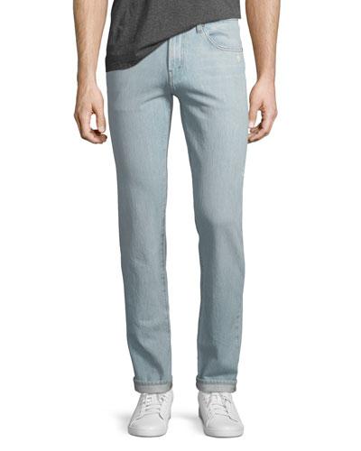 Men's Tyler Taper Slim-Fit Jeans, Intertidal