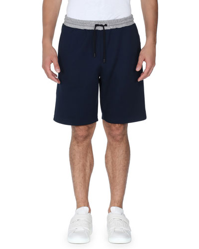 Forever Fendi Striped Sweat Shorts