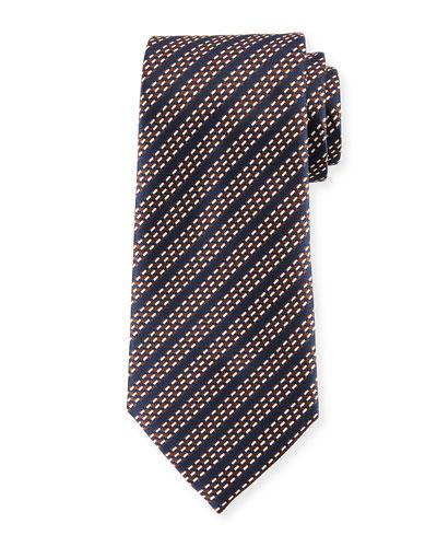 Dash Stripes Silk Tie