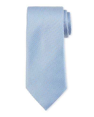 Tonal Checked Silk Tie