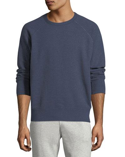 Heathered Long-Sleeve Sweatshirt