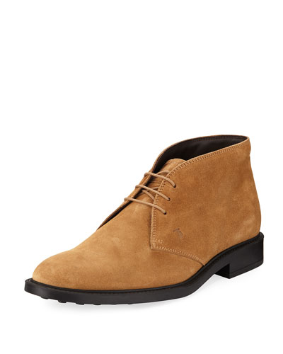 Polacco Suede Lace-Up Boot
