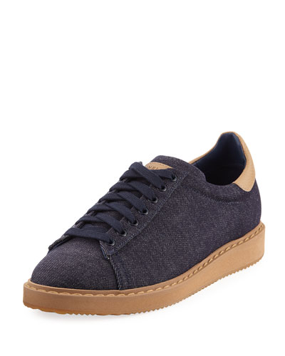 Denim Low-Top Sneaker