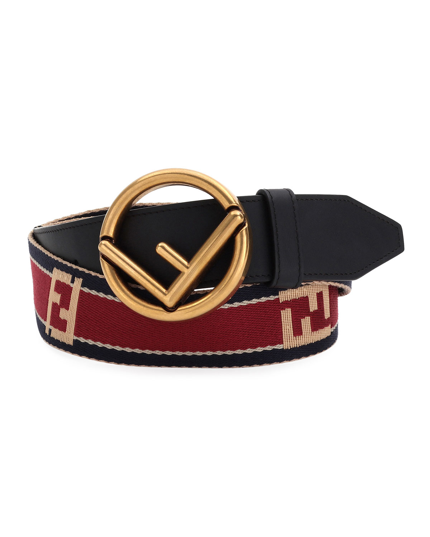 Forever Logo-Buckle Belt