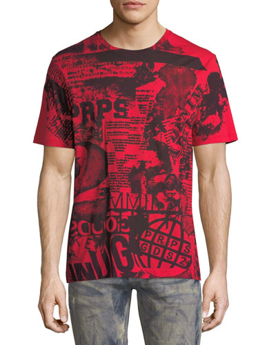 Graphic Notes Cotton T-Shirt