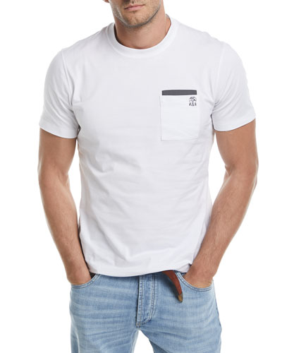 Patch-Pocket Spa T-Shirt