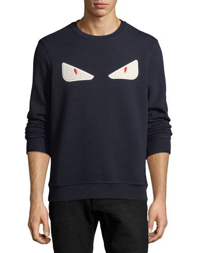 Rubber Monster Eye Sweatshirt