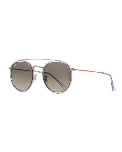RB3647 Round Metal Sunglasses