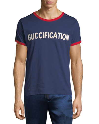 Guccification Logo Graphic T-Shirt