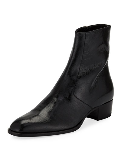 Men's Wyatt Zip-Up Boot, Black