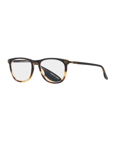 Barton Perreira Opticals MEN'S LAUTNER TORTOISESHELL ACETATE READING GLASSES-2.5