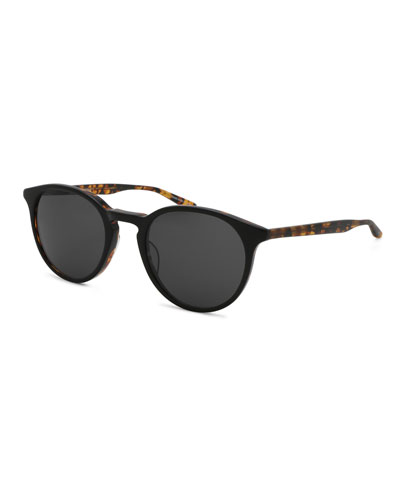 Men's Princeton Dark Round Sunglasses