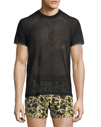 Short-Sleeve Net T-Shirt